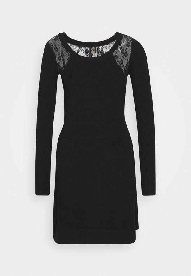 SOMALIA DRESS - Etuikleid - black