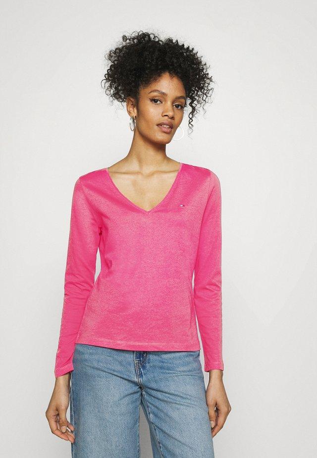 REGULAR CLASSIC  - Maglietta a manica lunga - hot magenta