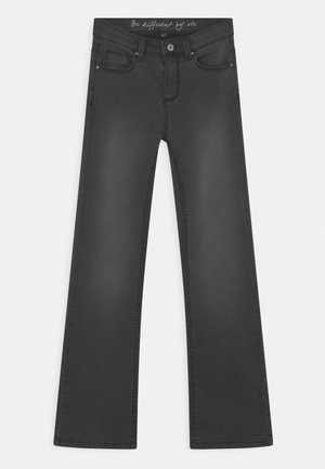 Bootcut jeans - grey denim