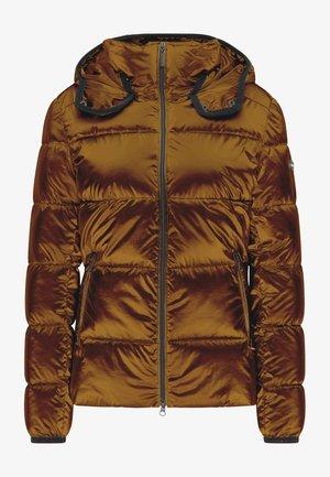 BERTA - Winter jacket - copper brown
