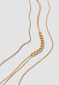 Stradivarius - 5 PACK - Necklace - gold-coloured - 4