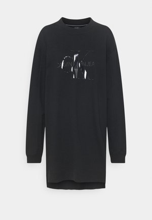 TONAL MONOGRAM - Day dress - black