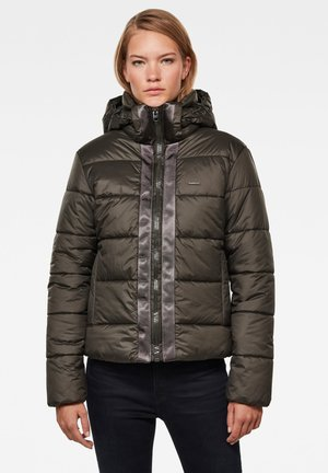 MEEFIC HOODED PADDED  - Winter jacket - asfalt