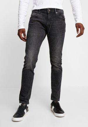 Jean slim - black medium wash