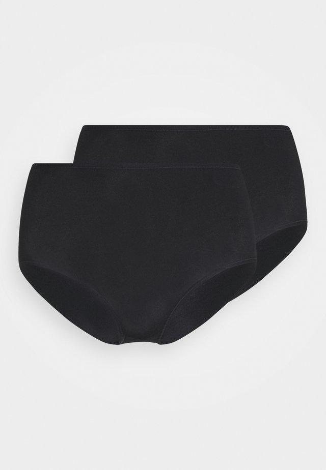 2 PACK - Underbukse - schwarz