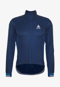 ODLO - JACKET ZEROWEIGHT DUAL DRY - Windbreaker - estate blue - 4