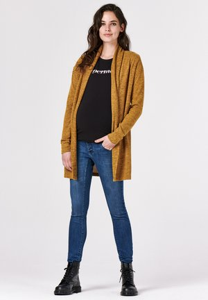 CARDIGAN  - Cardigan - chinese yellow