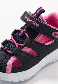 KangaROOS - KI-ROCK LITE - Sandals - dark navy/daisy pink - 2