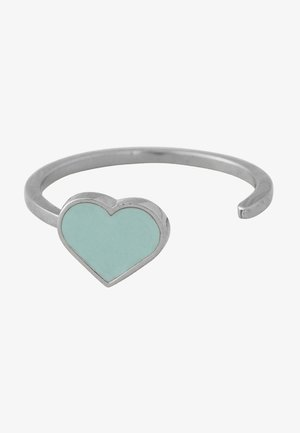 ENAMEL HEART RING - Ring - light green