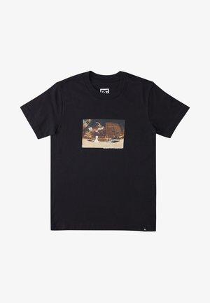 BLABAC JOSH KALIS  - T-shirt print - black