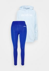 adidas Performance - SET - Luvtröja - skytin/white - 0