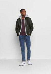 Gipsy - HALOW - Leather jacket - black - 1