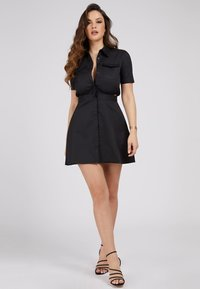 Guess - Shirt dress - schwarz - 1