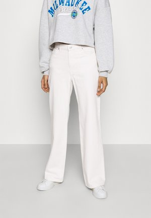 YOKO - Jeans Straight Leg - white light