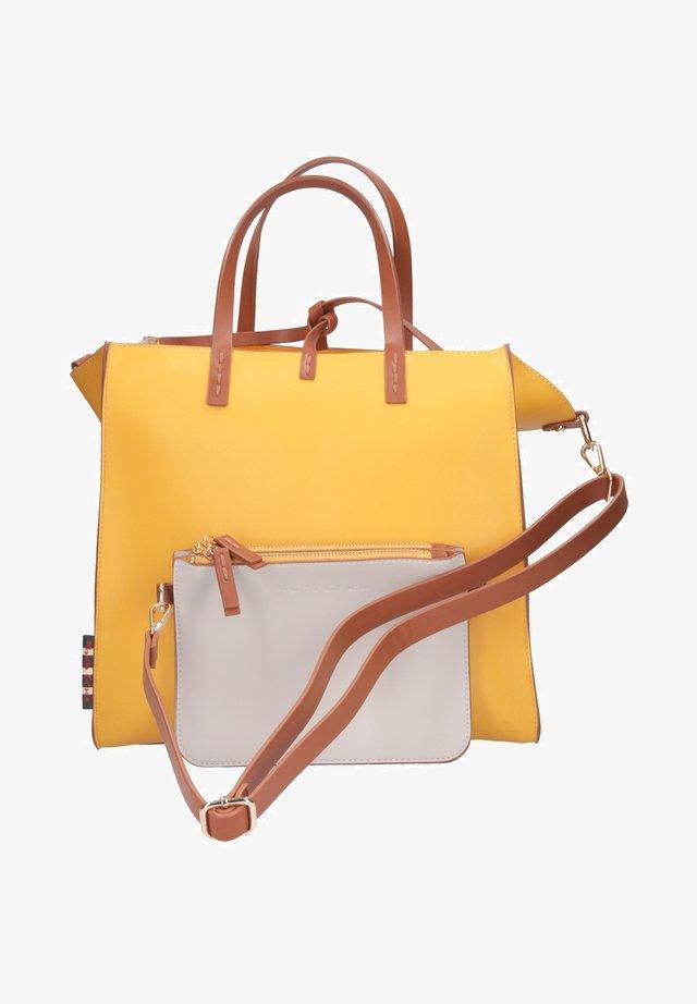 FELICIA - Shopping bag - giallo