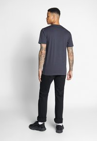Cleptomanicx - ICECREAM TRUCK - Print T-shirt - phantom black - 2