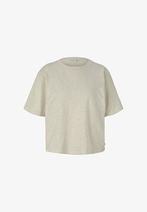 T-shirt basique - soft creme beige