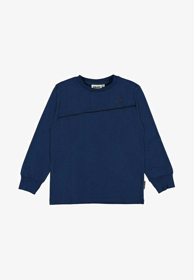 Langærmede T-shirts - ink blue