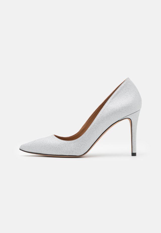 Classic heels - glitter agento
