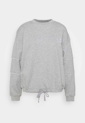 DRAWSTRING JUMPER - Sweatshirt - grey marle