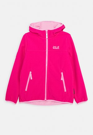 FOURWINDS JACKET KIDS - Soft shell jacket - pink peony