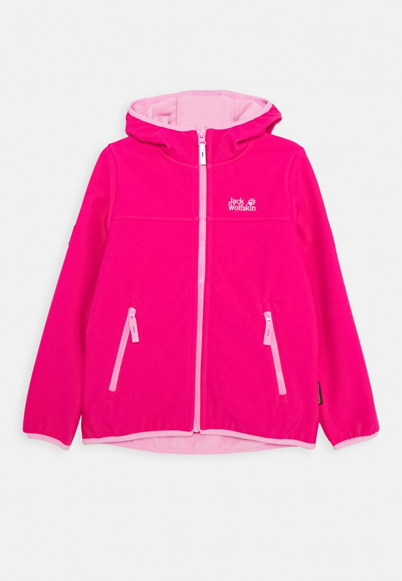 Jack Wolfskin - FOURWINDS JACKET KIDS - Softshelljas - pink peony