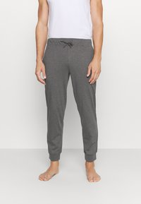 Pier One - 2 PACK - Pyjama bottoms - mottled dark grey/mottled grey - 3