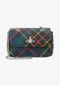 Vivienne Westwood - DERBY SMALL PURSE WITH CHAIN - Axelremsväska - hunting - 5