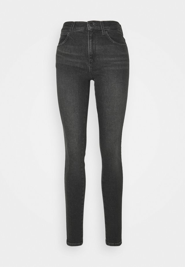 HIGH RISE BODY BESPOKE - Jeans Skinny Fit - black beauty