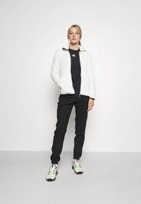 CMP - WOMAN JACKET - Fleece jacket - gesso/antracite - 1