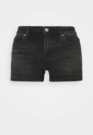 VMLYDIA TAP - Shorts vaqueros - black