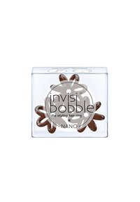 Invisibobble - NANO HAARGUMMI 2 PACK - Hårstyling-accessories - pretzel brown