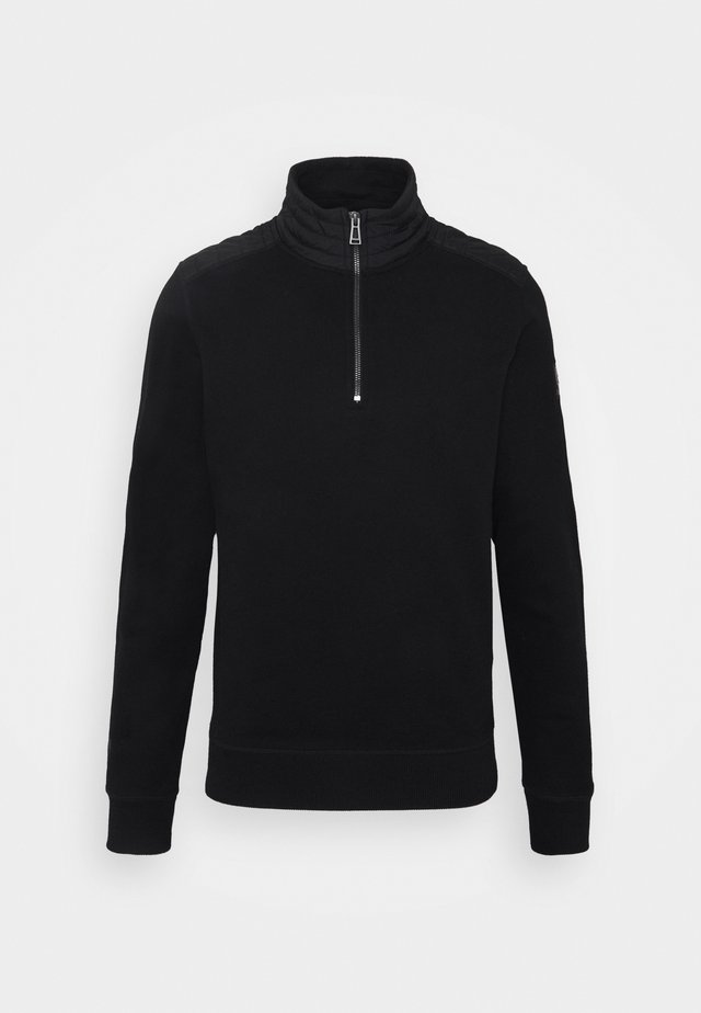 JAXON QUARTER ZIP - Sweatshirt - black