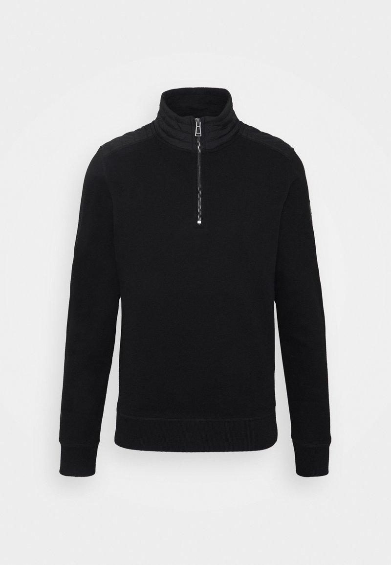 Belstaff - JAXON QUARTER ZIP - Sweater - black