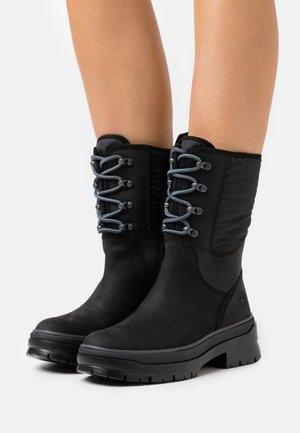 MALYNN LACE MID WP - Winter boots - black