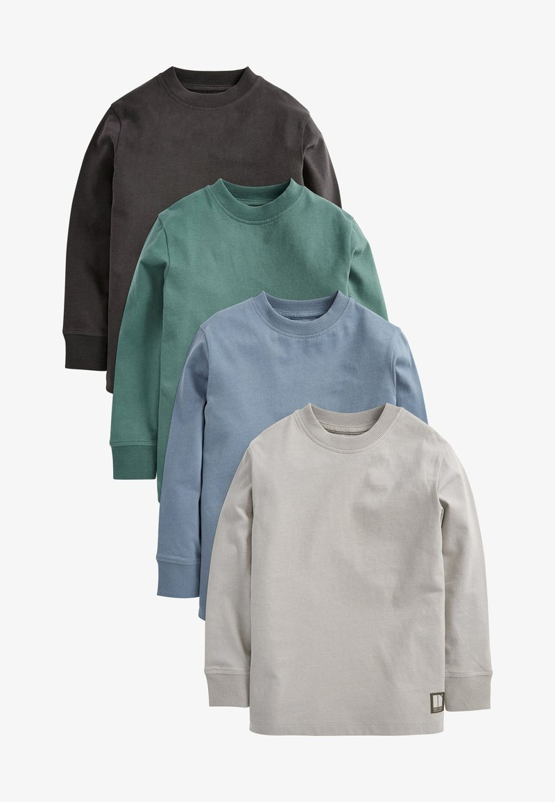 Next - 4 PACK - Long sleeved top - blue