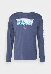 GRAPHIC TEE UNISEX - Long sleeved top - blue inigo