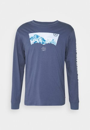 GRAPHIC TEE UNISEX - Long sleeved top - blue inigo