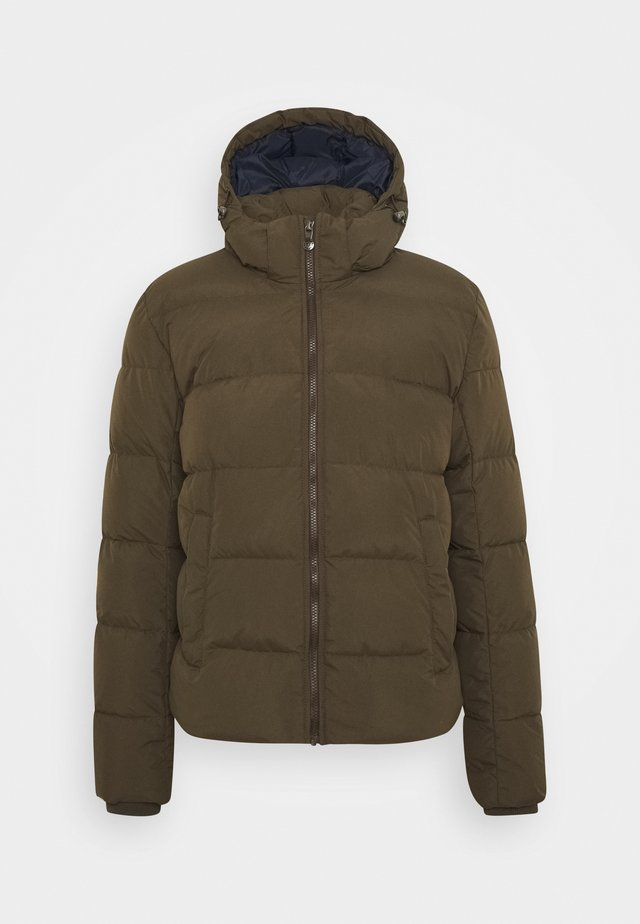 SPOUTNIC MAT - Down jacket - sauge