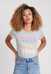 GAP - CREW - T-shirts print - grey heather - 0