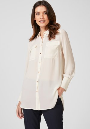 Button-down blouse - off-white