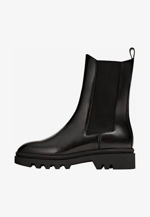 PROFILSOHLE - Korte laarzen - black