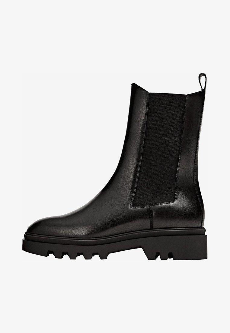 Massimo Dutti - PROFILSOHLE - Boots à talons - black
