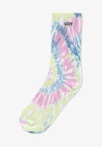 Vans - WM COVERED (6.5-10, 1PK) - Socks - tie dye orchid - 0