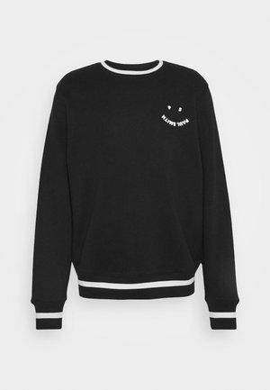 MENS FACE - Sweatshirt - black