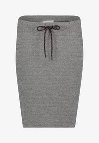 Cartoon - GESCHNITTEN - Pencil skirt - schwarz/grau - 0