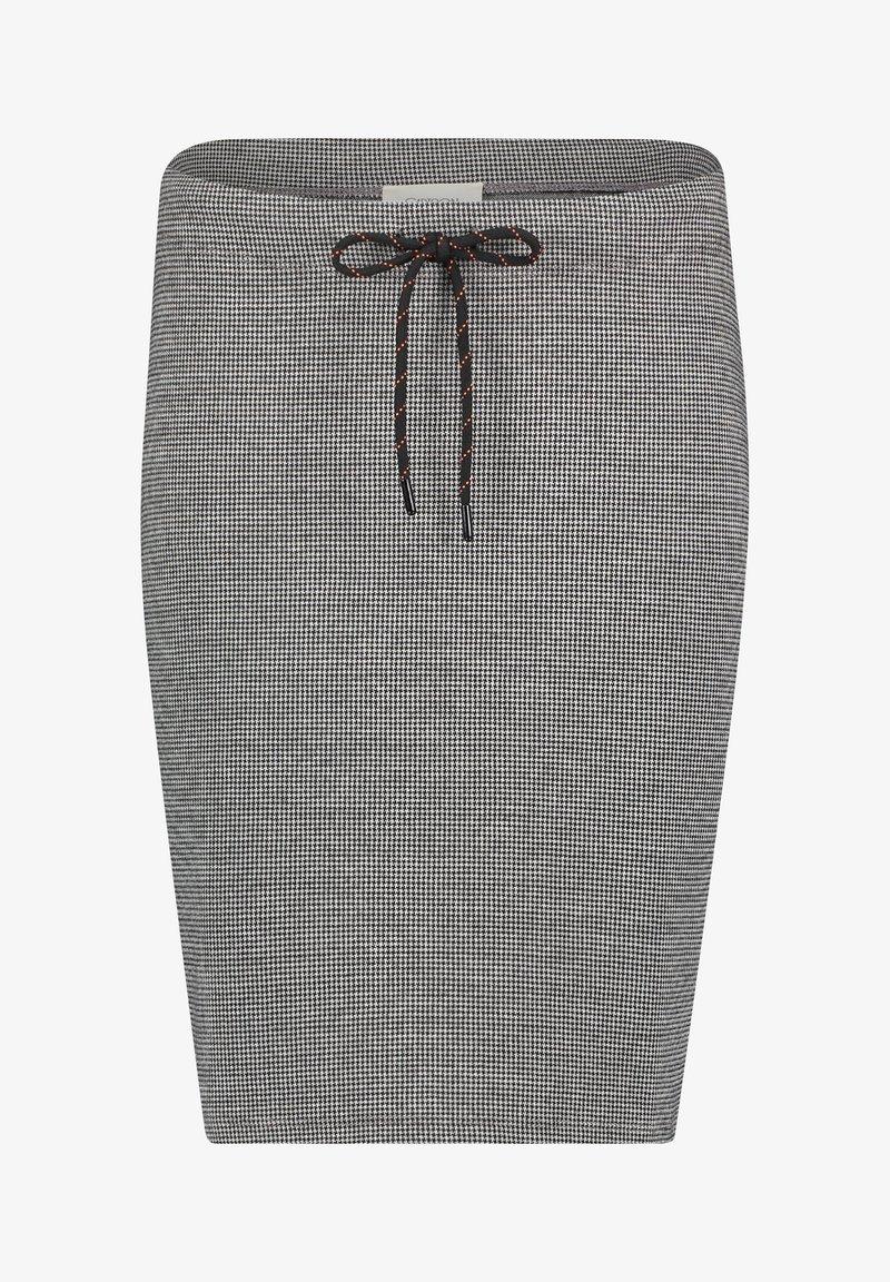 Cartoon - GESCHNITTEN - Pencil skirt - schwarz/grau