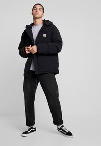 Carhartt WIP - ALPINE COAT - Winter jacket - black / hamilton brown - 1