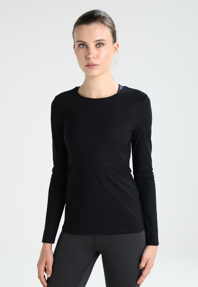 SMOOTH DANCE  - Long sleeved top - black