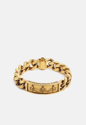 FRAME GIGLIO UNISEX - Bransoletka - antique gold-coloured